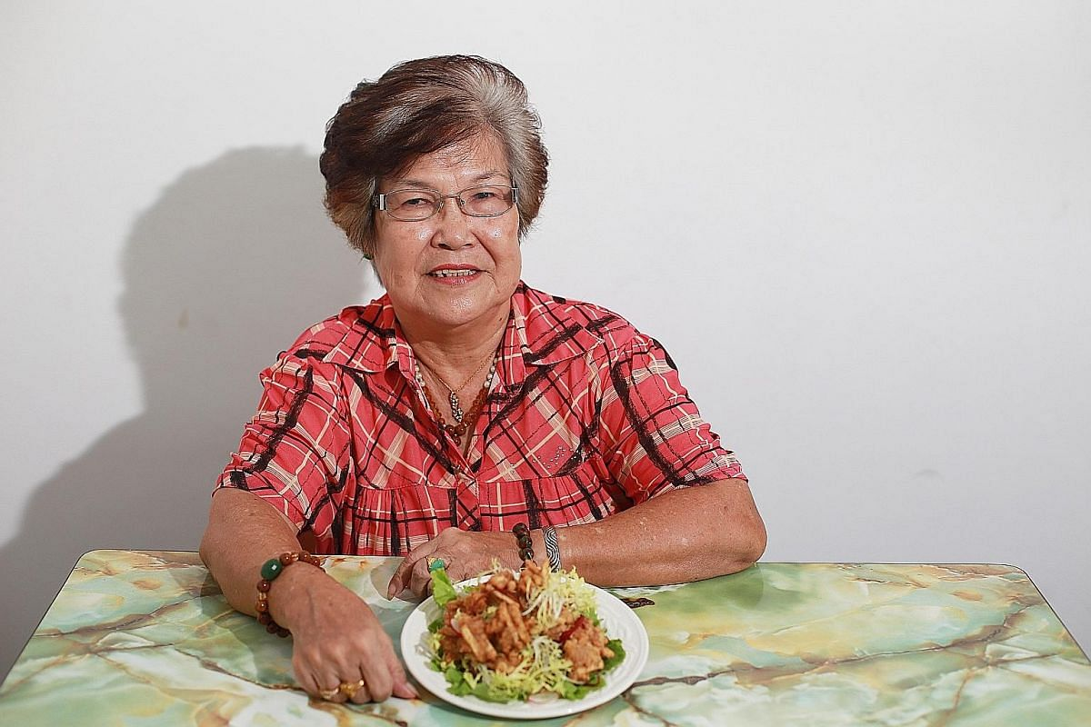 Madam Soh Lee Chin's dish of Hakka fried yam balls is a family favourite for special occasions. The recipe has been in her family for four generations.