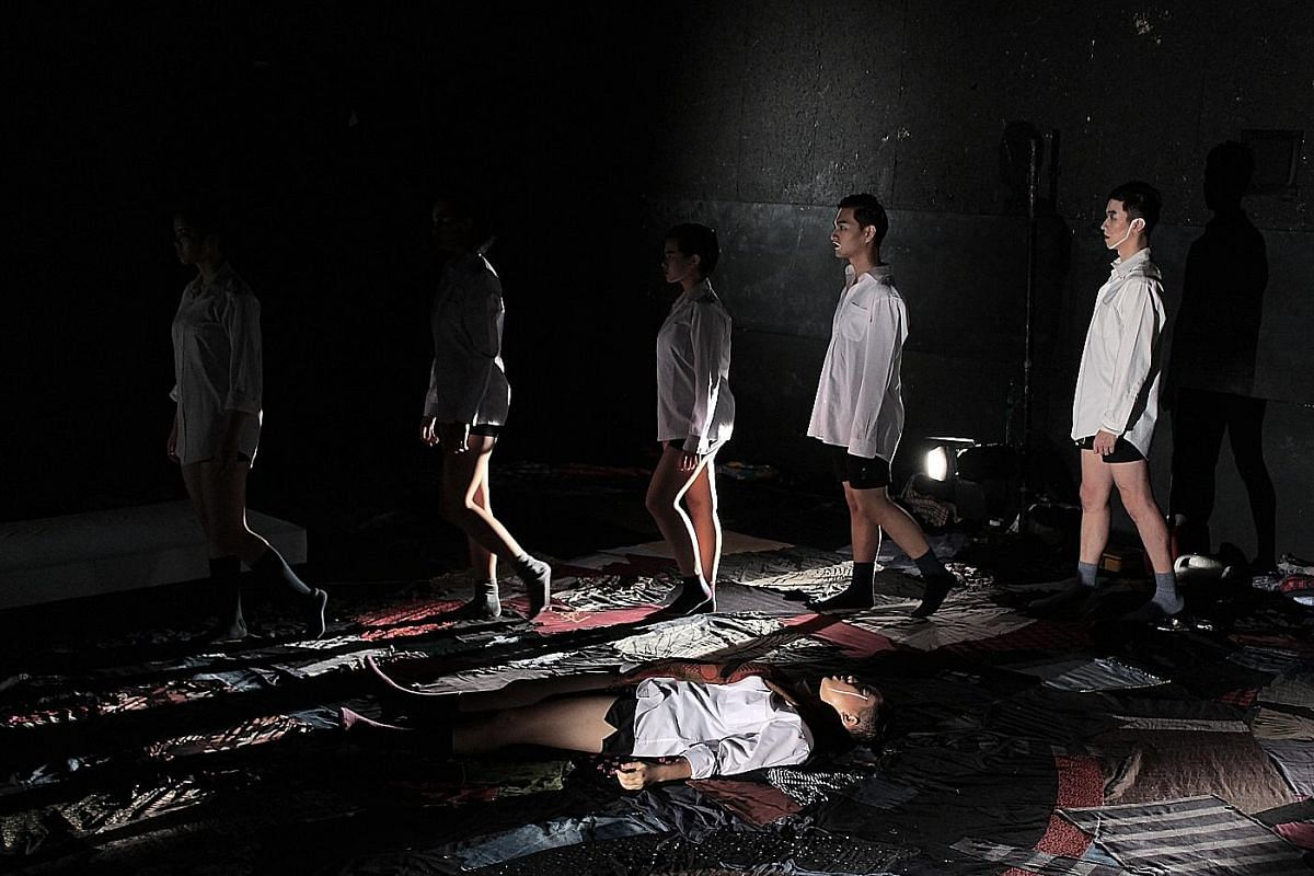 To Begin Again, staged last year by Bound Theatre, and Figs (above), the second play by theatre collective Make Space.
