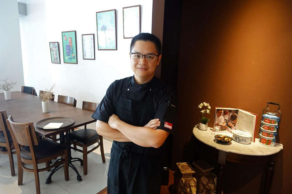 Chef Malcolm Lee of Candlenut.