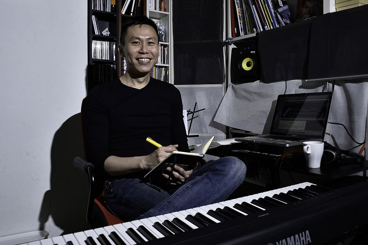 """""""You shift a note or quaver and the world changes. That's the art and craft of composition.As a composer, I see where the notes should go but as an improviser, I can change my mind."""" TOH TZE CHIN (above),on why his compositions allow himself and ot"""