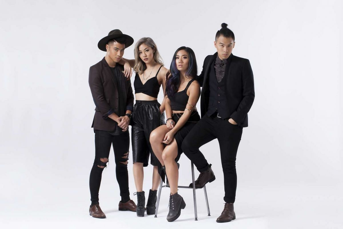 The Sam Willows, comprising (from left) Benjamin and Narelle Kheng, Sandra Riley Tang and Jonathan Chua.