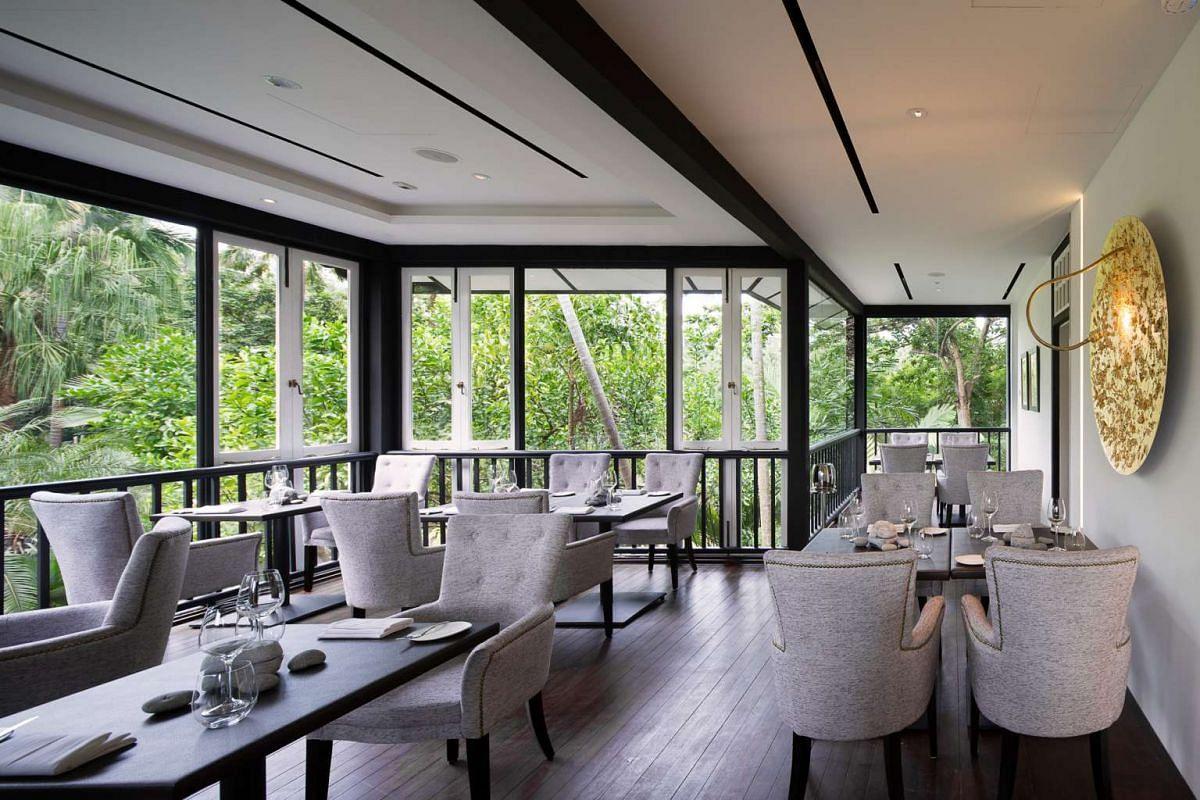 Corner House located at Cluny Road, Nassim Gate, Singapore Botanic Gardens.