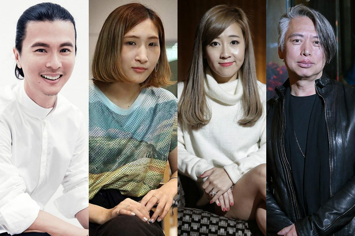 (From left) Beauty experts Clarence Lee, Natsumi Iwamuro, Lindy Tsang and Daniel Ng share beauty rules they live by. PHOTO: JOEL LIM, DON WONG, KEVIN LIM, NEO XIAOBIN
