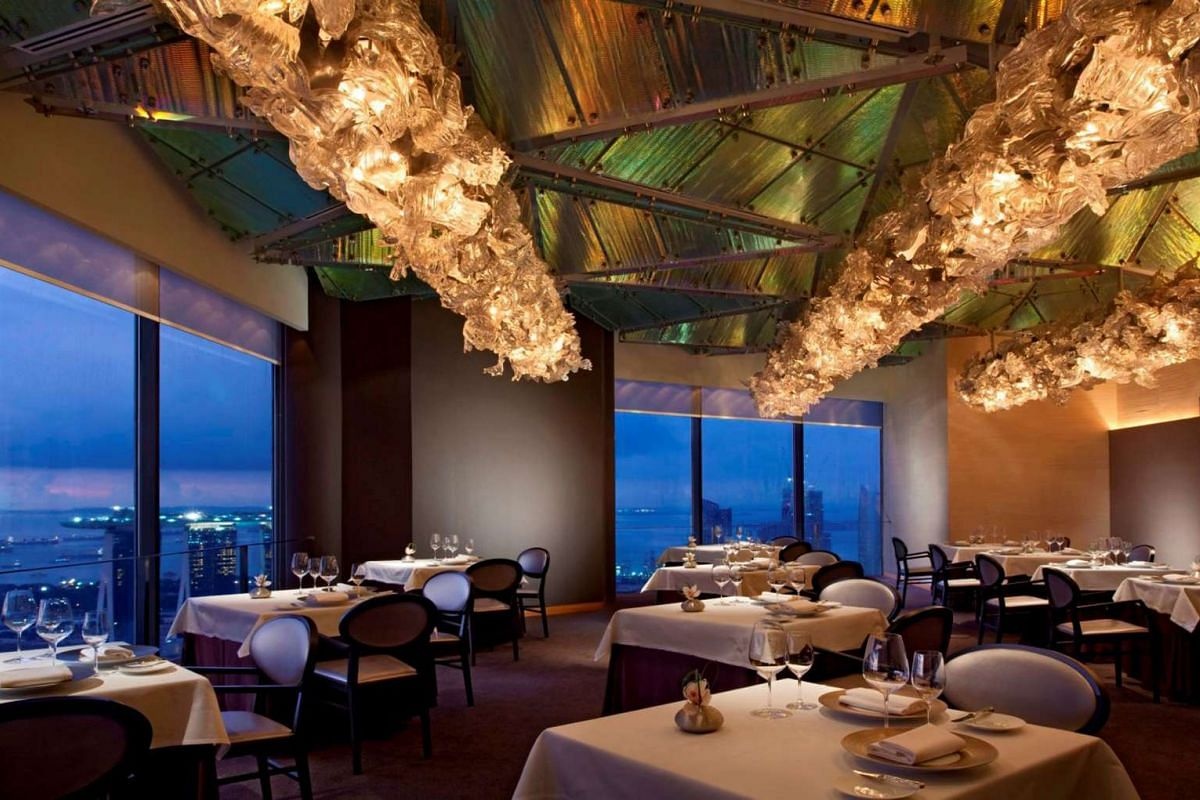 Jaan, a fine-dining restaurant at Swissotel The Stamford.