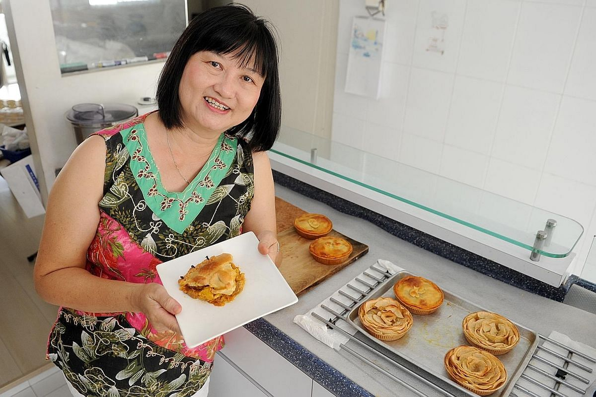 Ms Sarah Lee is a co-author of Asian Pies, which features recipes that swop out classic fillings for those with an Asian twist.