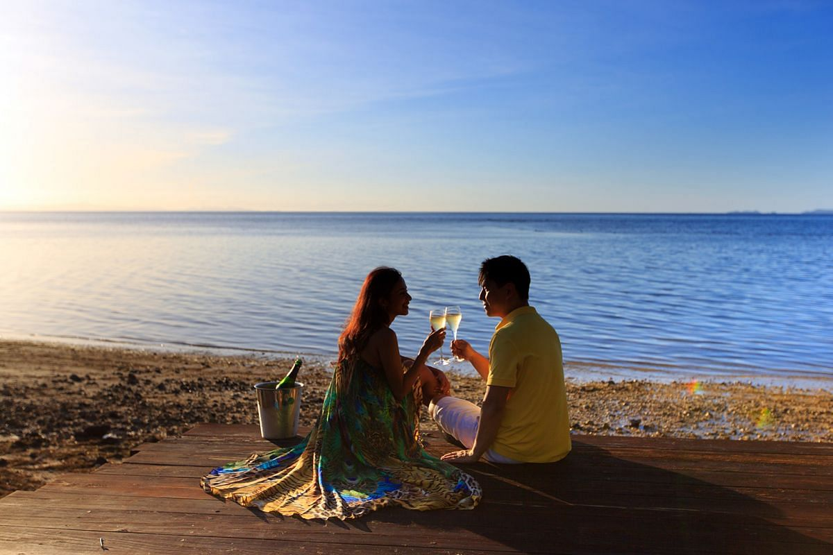 Dr Kevin Chua (above, with wife Iroshini Chua) has been to Fiji only once, but he says the hospitality and wonderful beaches are reasons enough for him to return.