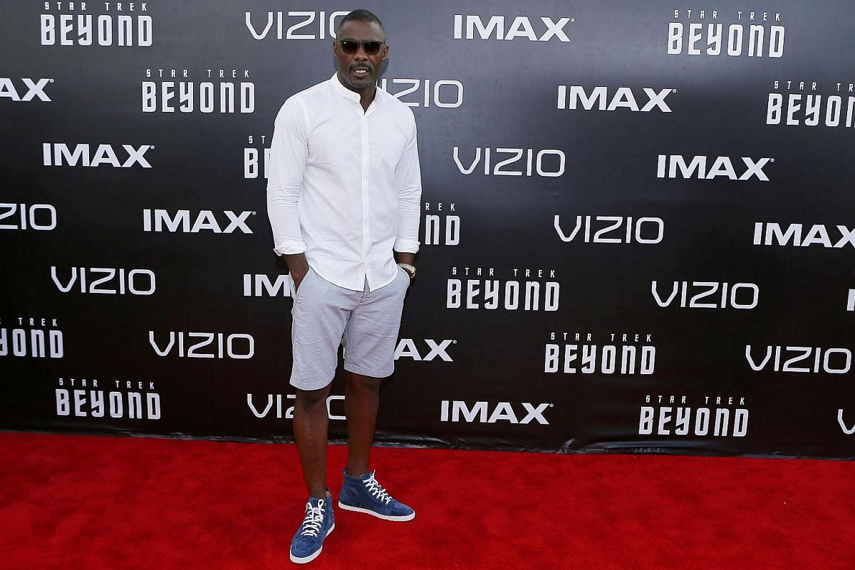Actor Idris Elba arrives for the world premiere of Star Trek Beyond at Comic Con in San Diego, California, US, on July 20.