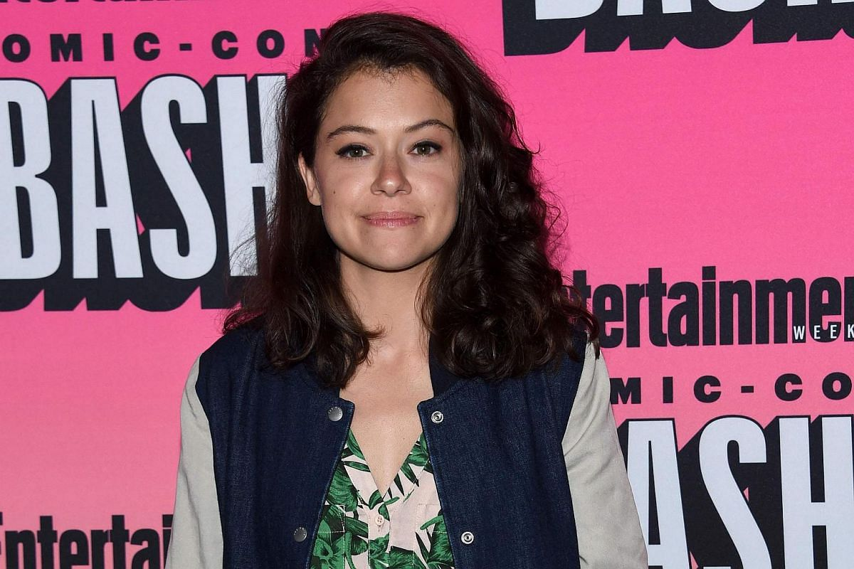 Actress Tatiana Maslany attends the Entertainment Weekly Comic Con Celebration 2016 event, in San Diego, California, on July 23.