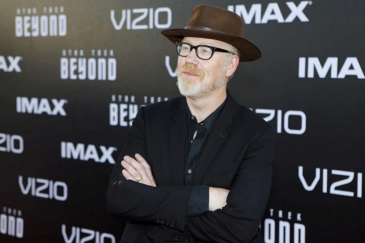 TV personality Adam Savage arrives for the world premiere of Star Trek Beyond at Comic Con in San Diego, California, US, on July 20.