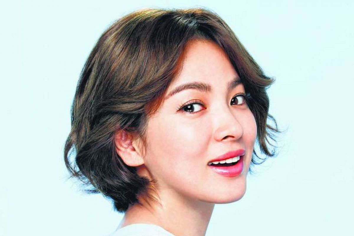 Korean actress Song Hye Kyo is known for her full brows.