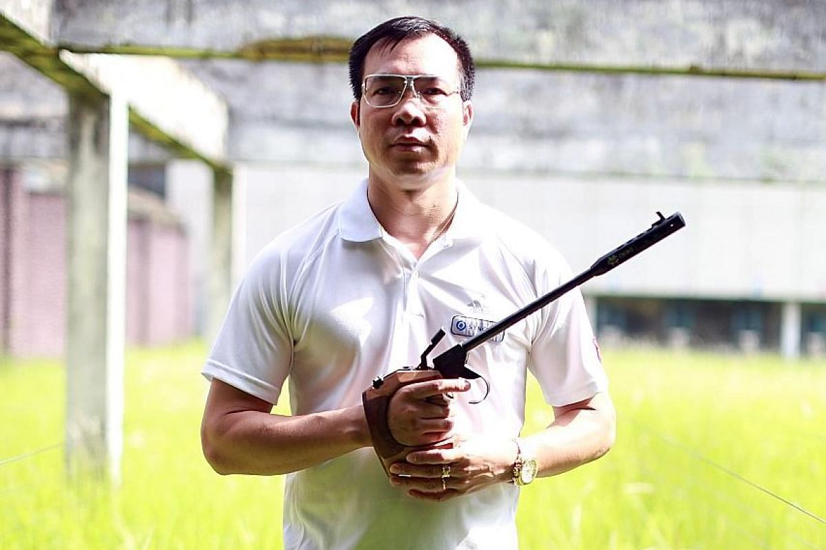 Hoang Xuan Vinh has held the 10m air pistol world mark and been ranked as high as world No. 3 in the 50m event. An Olympic medal would be the pinnacle of his career.