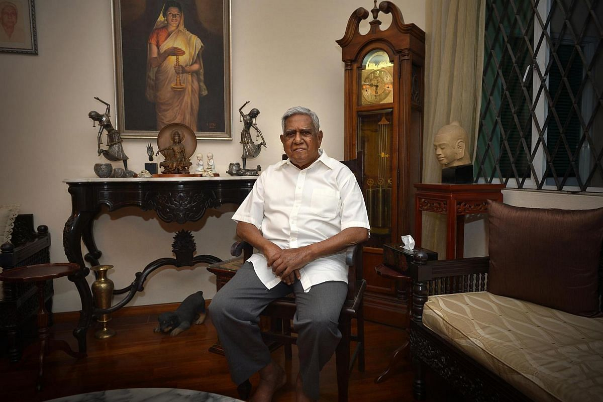 Mr Nathan in his home in 2013.