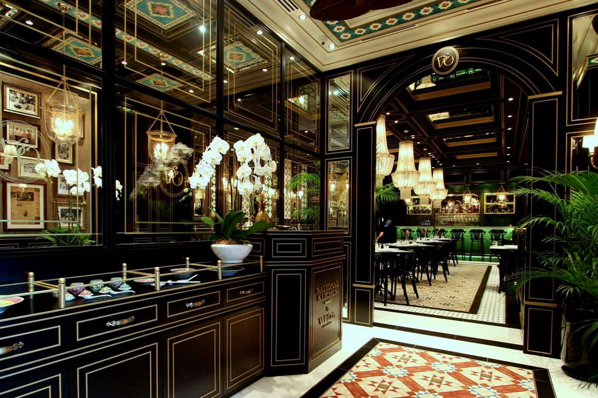 National Kitchen by Violet Oon serves a good mix of traditional and contemporary Nonya dishes.