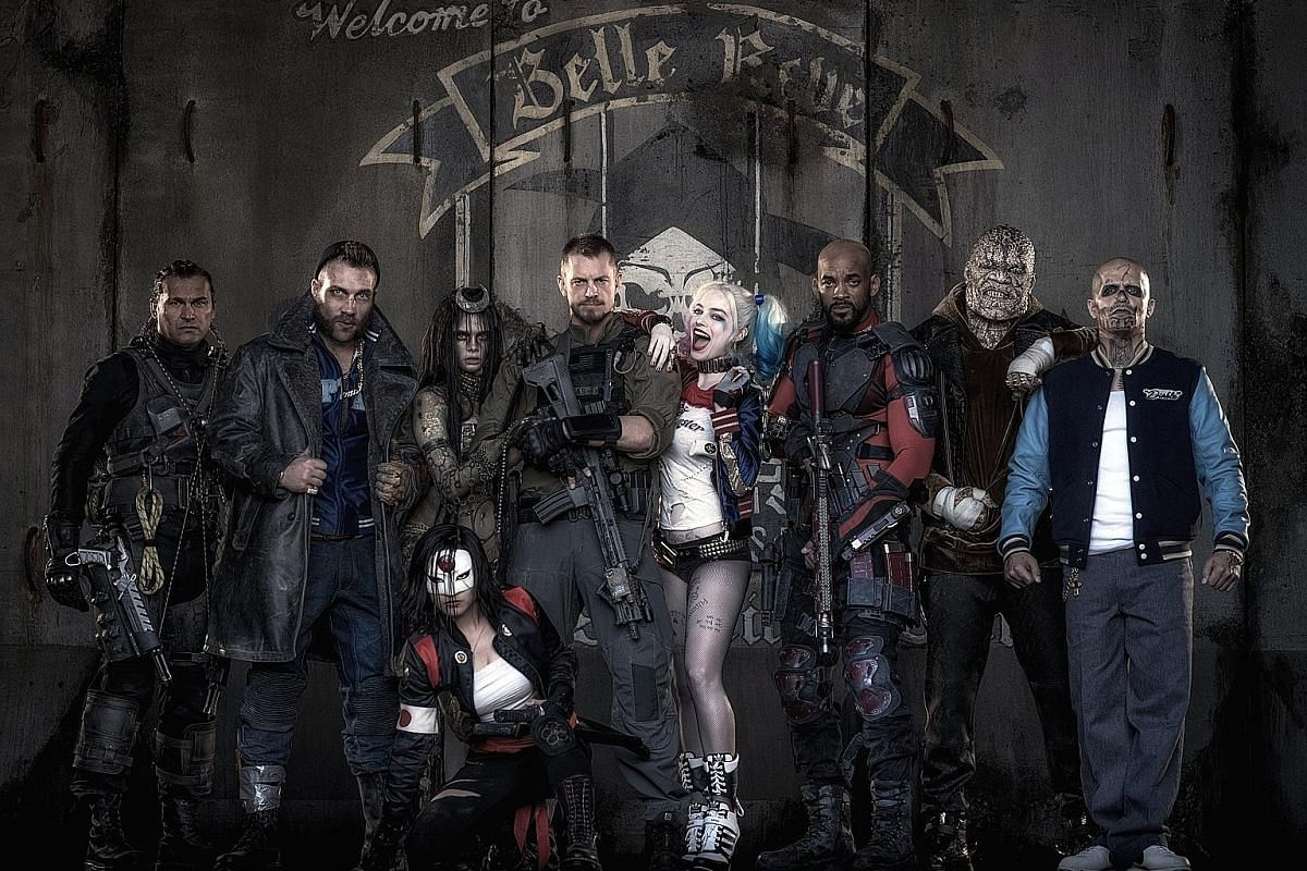 The DC Comics movie Suicide Squad is about a gang of incarcerated super-villains recruited for a covert government operation.