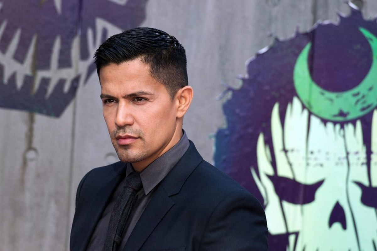 Jay Hernandez, who plays Diablo in Suicide Squad, attends the London premiere.