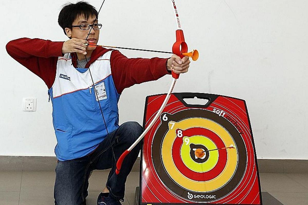 Decathlon Soft Archery Set.