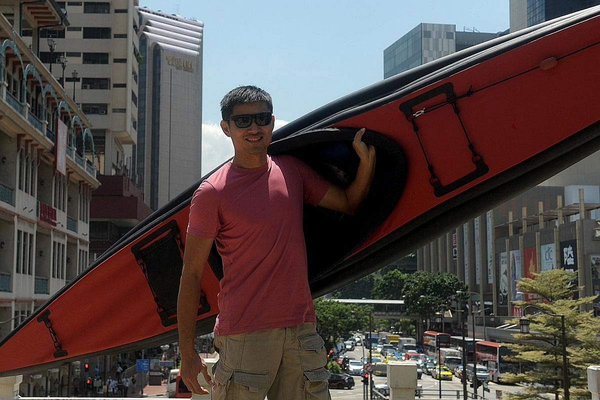 Feathercraft Aironaut inflatable kayak.
