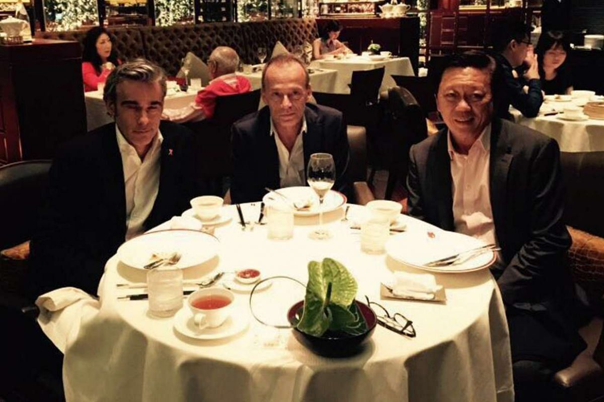 My life so far: Mr Chong still keeps in touch with his former joint venture partners, Mr Fabrice Weber and Mr Eric Lauzat, who today represent Estee Lauder and Elizabeth Arden respectively, but were previously from L'Oreal.