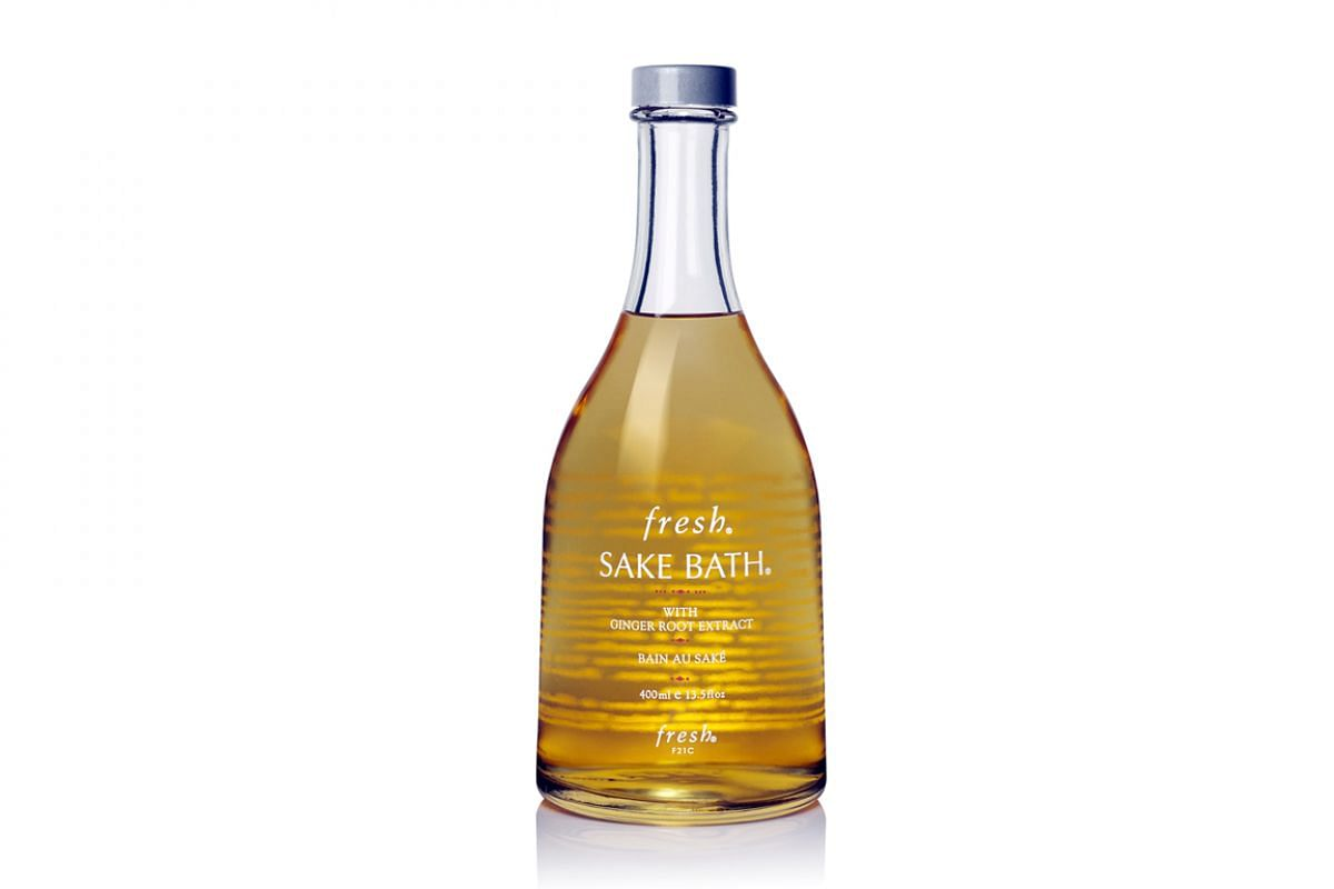 5 Sake Bath, $81 (200ml), $134 (400ml).