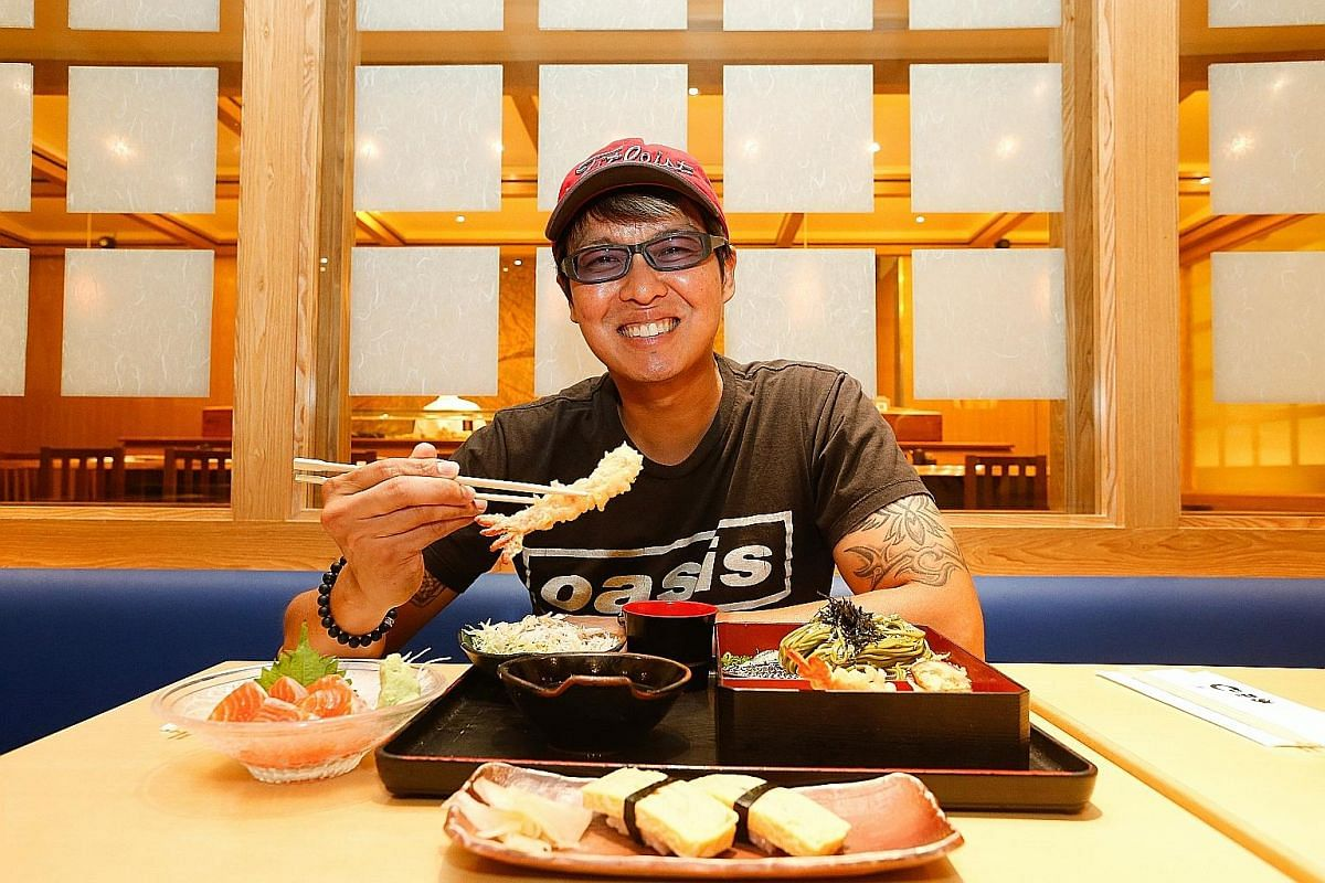 DJ Glenn Ong thinks it is easy to eat healthily with Japanese food.