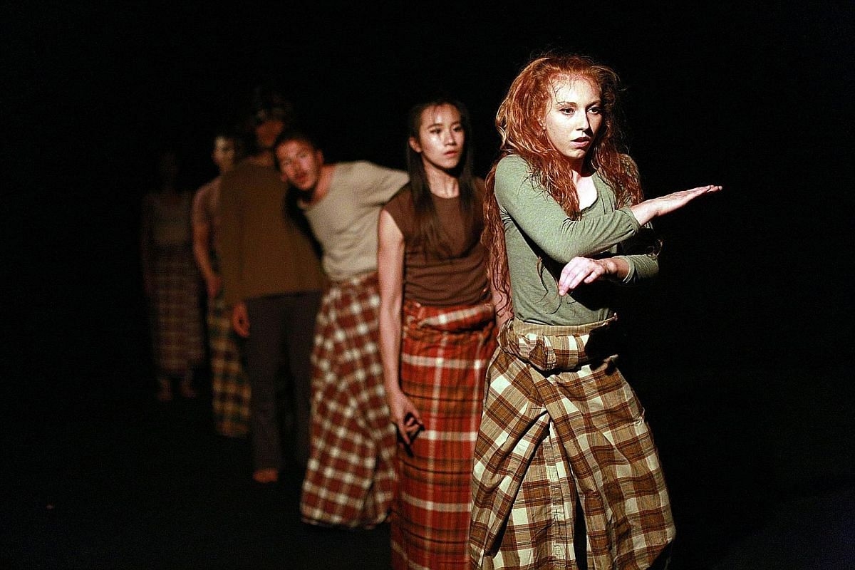 Bhumi (above), a Singapore-Britain contemporary dance production showing at Edinburgh Festival Fringe, is by London-based Singaporean independent producer Mohamad Shaifulbahri Sawaluddin.