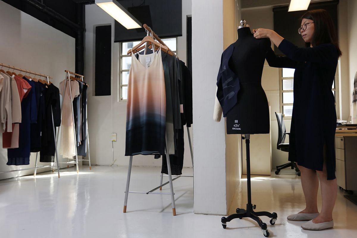 68d202110 Local labels give shopping a new twist amid retail slump. 1 of 3. Previous  Next. 123. At fashion designer Gin Lee s first Singapore showroom at the  National ...