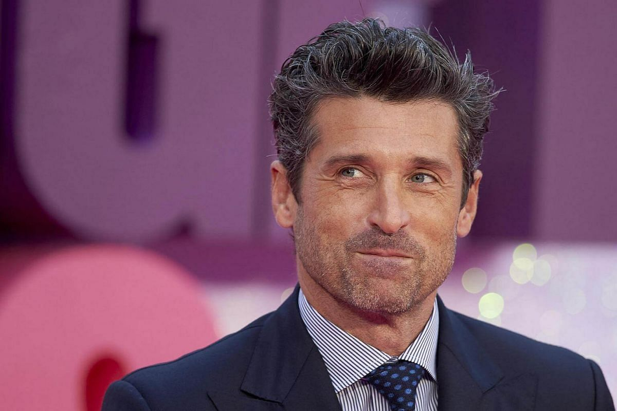 US actor Patrick Dempsey poses on the red carpet as he arrives for the world premiere of Bridget Jones's Baby in Leicester Square, Central London, Britain, Sept 5 2016.