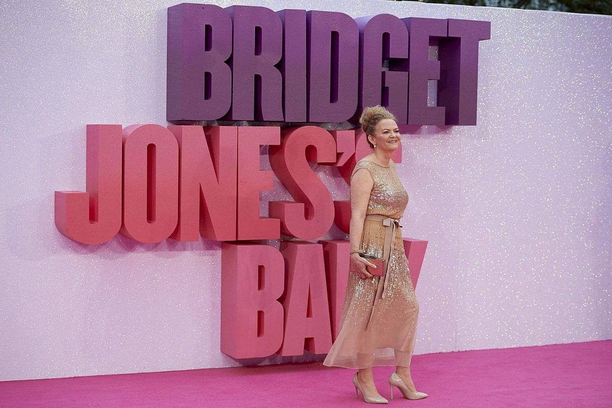 British director Sharon Maguire poses on the red carpet as she arrives for the world premiere of Bridget Jones's Baby in Leicester Square, Central London, Britain, Sept 5 2016.