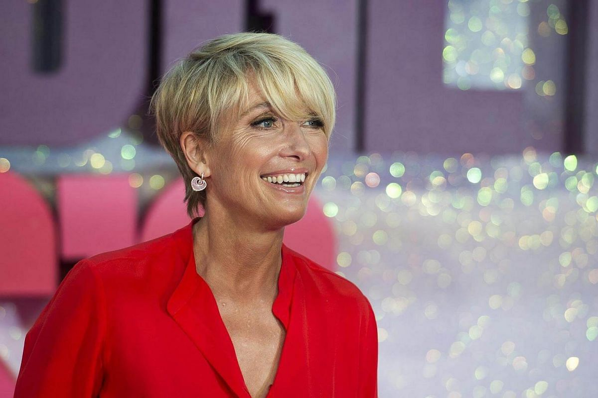Cast member Emma Thompson arrives for the world premiere of Bridget Jones's Baby in Leicester Square, Central London, Britain, Sept 5 2016.