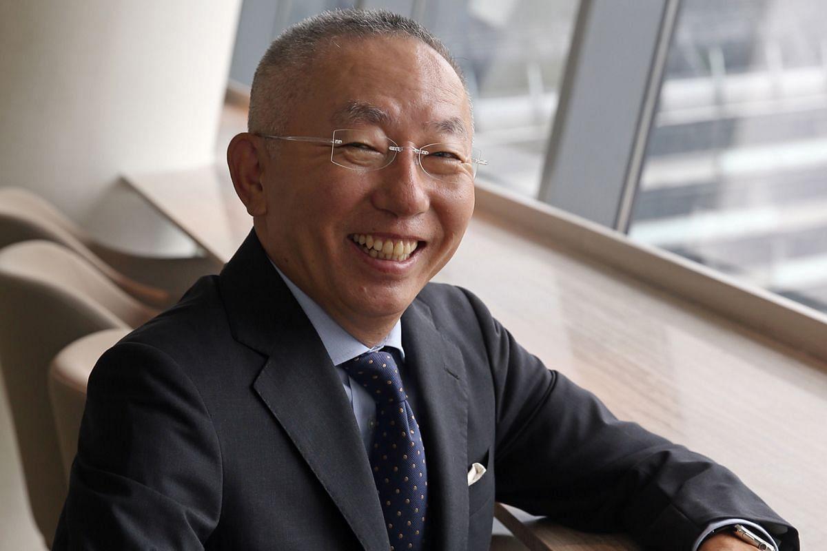Mr Tadashi Yanai, founder of Japanese clothing giant Uniqlo