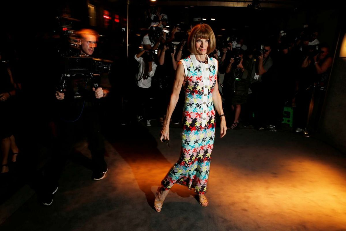Anna Wintour arrives to attend a presentation of Tom Ford's Autumn/Winter 2016 collections during New York Fashion Week in the Manhattan borough of New York, US on Sept 7, 2016.