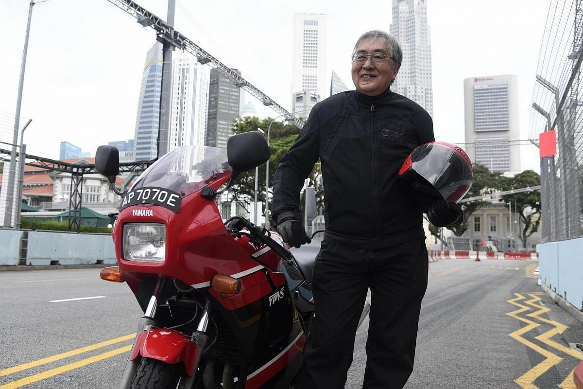 To Mr Lee Chiu San, riding a motorbike is about conquering fears.