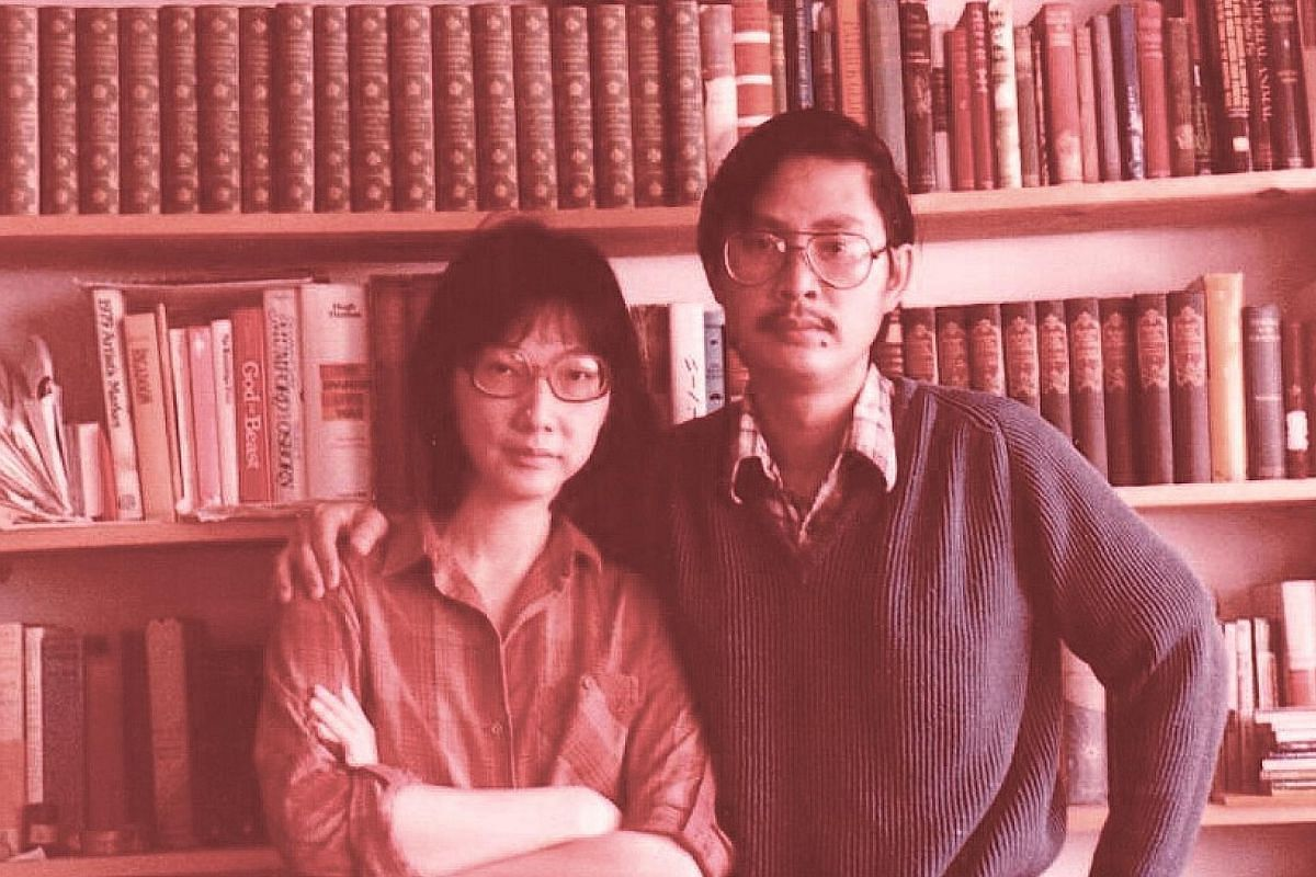My life so far: (Above) Dr Ho Hua Chew and his wife, Dr Khoo Kim Choo, in Seattle in their 30s. They were doing postgraduate studies then.