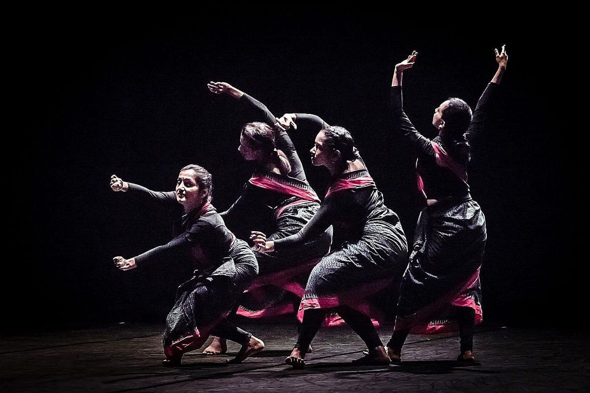 The Second Sunrise (above), by home-grown artist Raka Maitra, is her dance company's festival debut.
