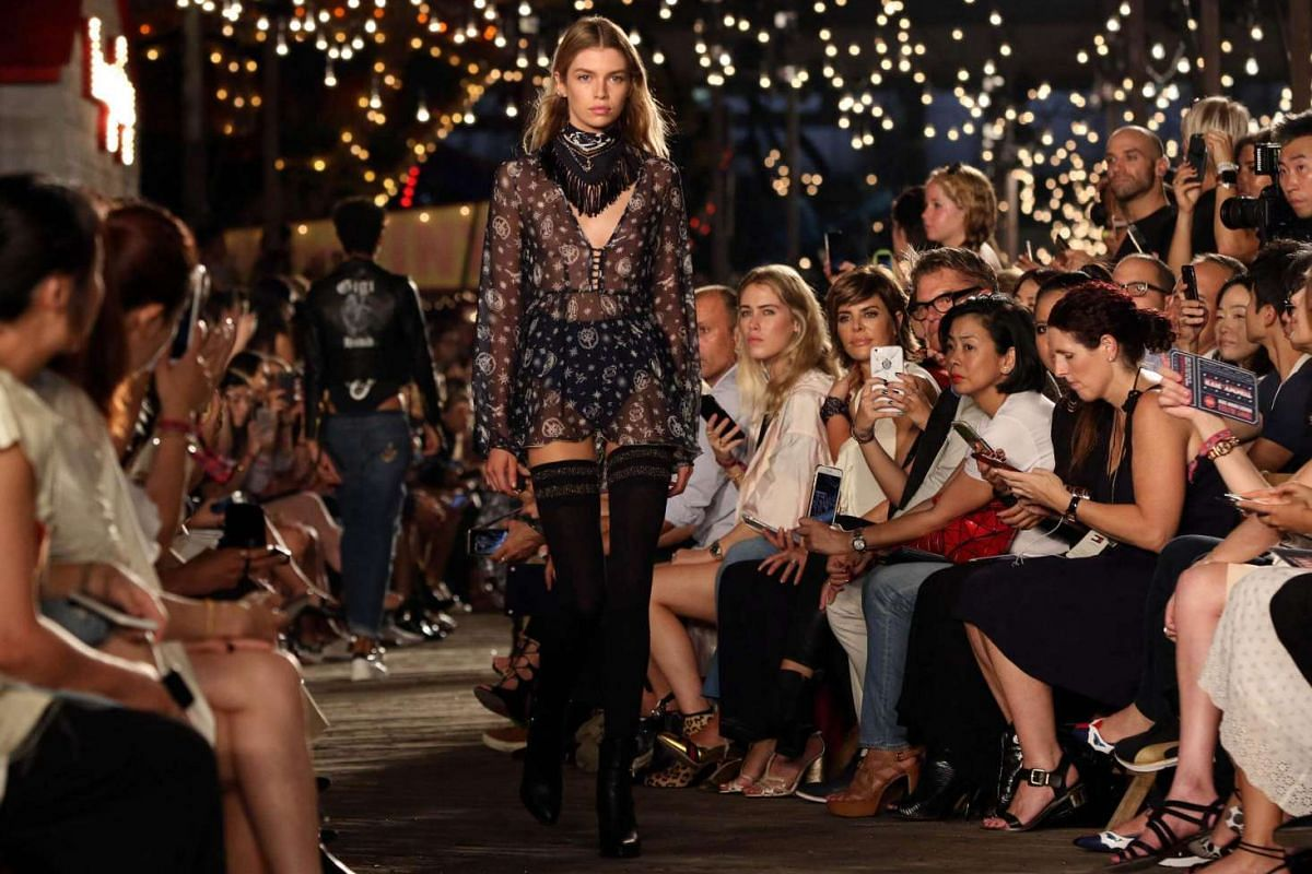 Models walk the runway during the Tommy Hilfiger Fall 2016 collection presented at New York Fashion Week on Sept 9, 2016.
