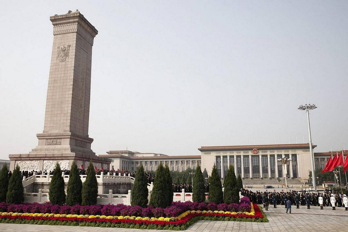 The Monument to the People's Heroes: A 10-storey obelisk that was dedicated to the martyrs of revolutionary struggle, it is located in the southern part of Tiananmen Square in Beijing. It was designed by Liang Sicheng and completed in May 1958.