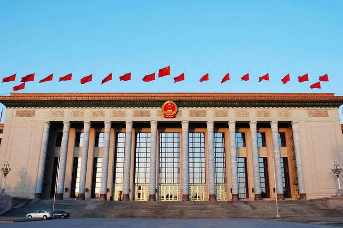 The Great Hall of the People: Located at the western edge of Tiananmen Square in Beijing, it was designed by architect Zhang Bo and opened in September 1959.