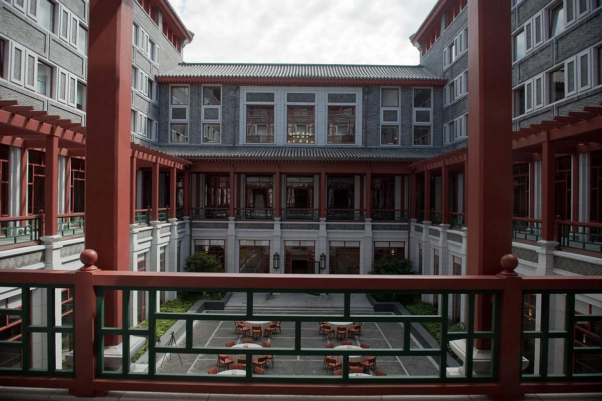 Tsinghua University: It is located on the former site of Qing Dynasty royal gardens and retains Chinese-style landscaping as well as traditional buildings, but many of its buildings are also in the Western-style, reflecting the American influence in