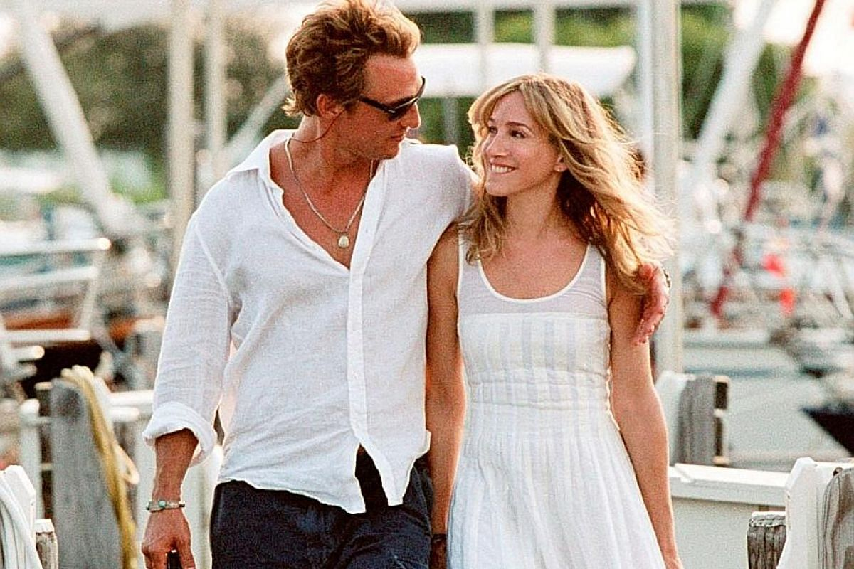 Featuring her pairing with Matthew McConaughey (both above).