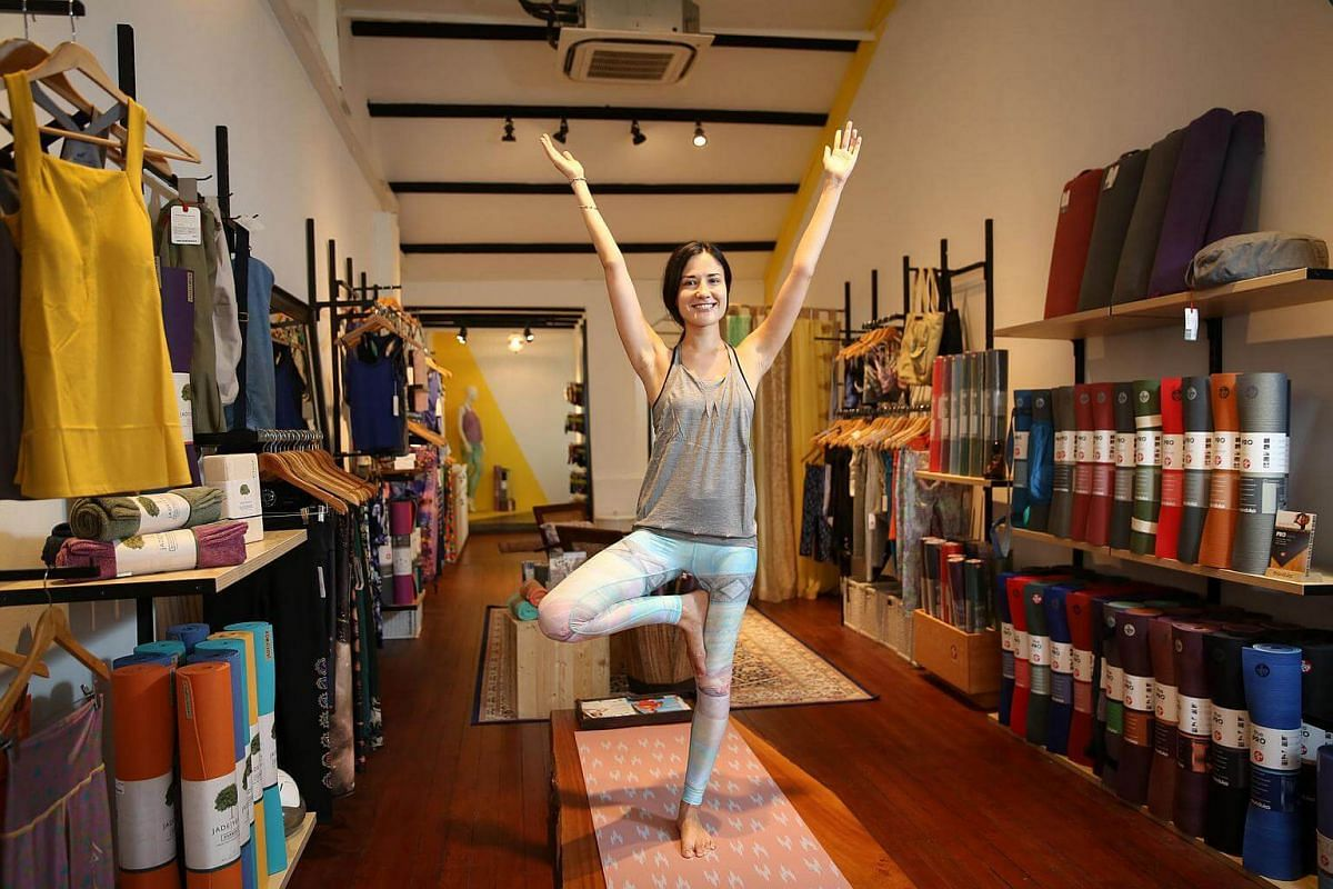 Multi-label yoga wear store Touch The Toes carries brands that use only organic cotton, bamboo blends, recycled / up-cycled materials, and are all sustainably produced.
