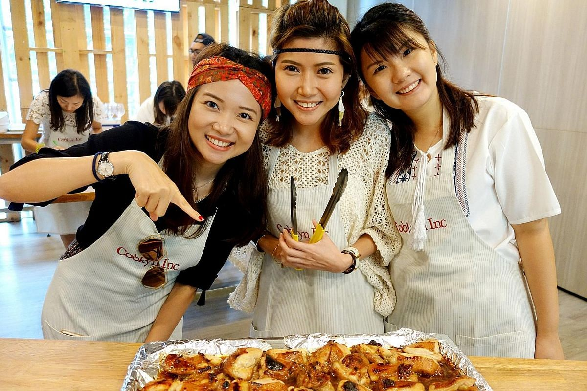 Culinary Art Studio is a school that teaches dishes such as Malay kueh, mutton mysore and chapati.