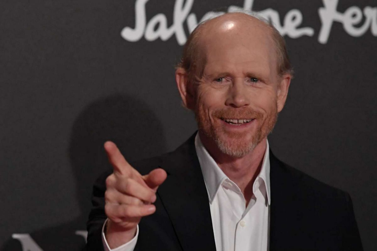 Director Ron Howard attends the world premiere of his movie, Inferno.
