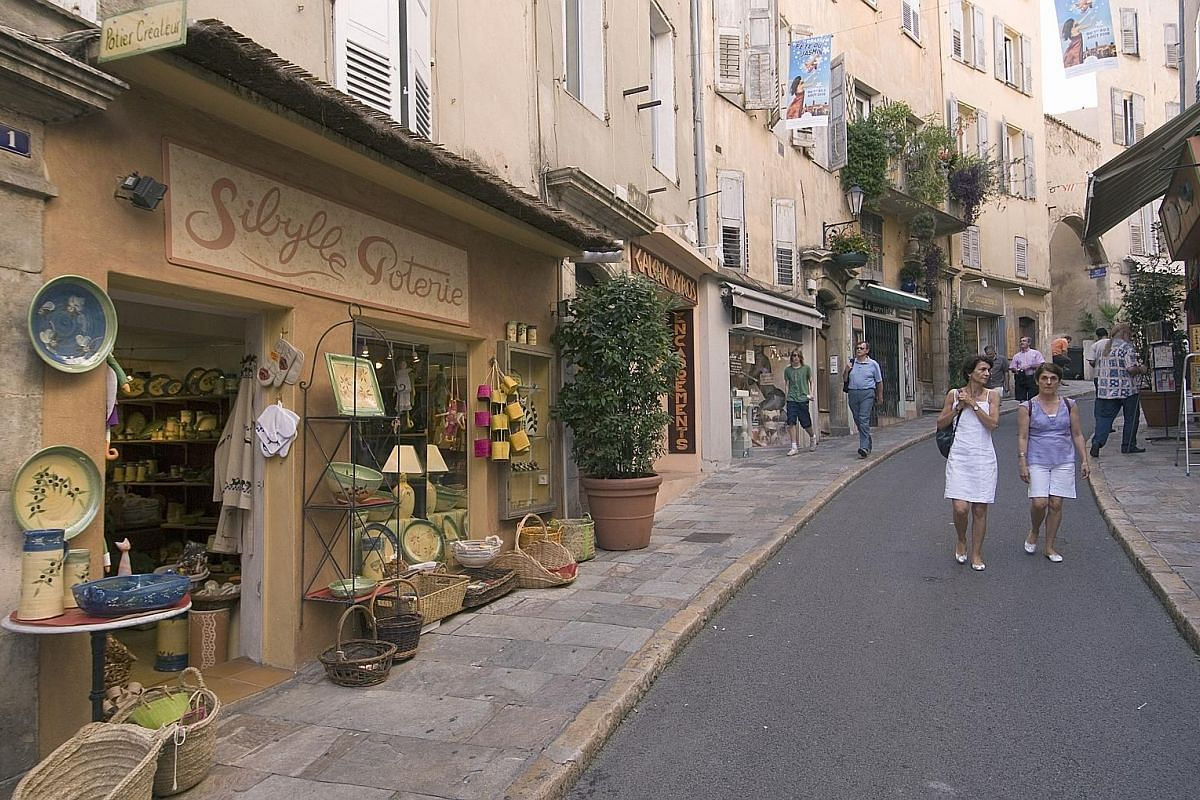 Sky Premium's general manager Margaret Koh (above) likes fragrances and enjoys visiting Grasse (top) for its perfume houses.