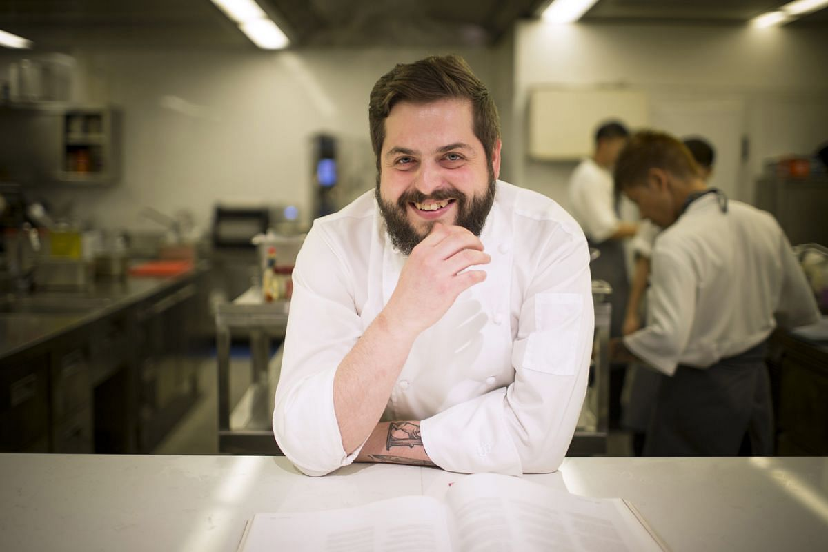Chef Aitor Jeronimo Orive takes inspiration from local food traditions when coming up with new dishes.
