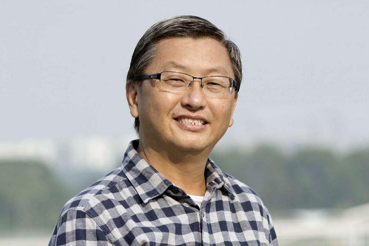 Freelance Writer Sim Kok Chwee, 56
