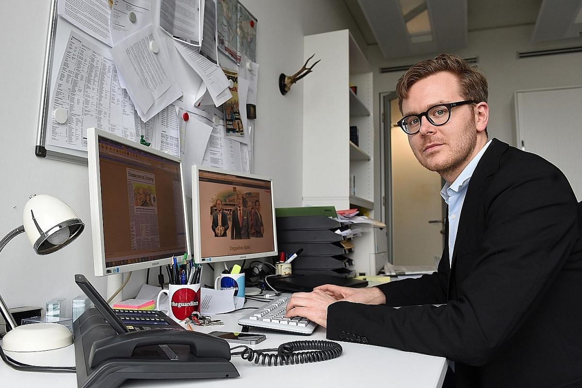 German journalist Frederik Obermaier (above) was behind the Panama Papers investigation with Bastian Obermayer, his colleague at Munich-based daily Suddeutsche Zeitung.
