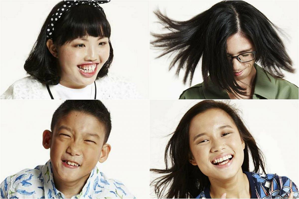 The Singaporeans that lensman ND Chow photographed included (clockwise from top left) Jamie Lopes-Lam, Isabelle Lim, Sophie Soon and Joel Jiang.