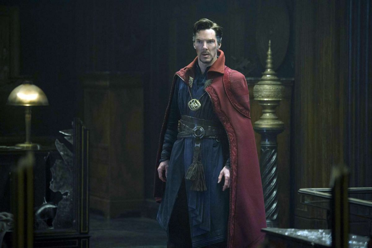 Benedict Cumberbatch plays the lead character in Marvel's Doctor Strange.