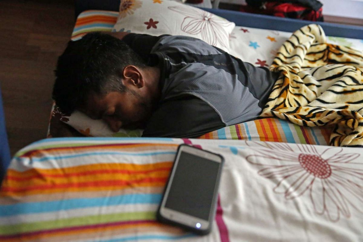 """Down with fever throughout the night, Feroz goes back to sleep after his morning prayers. He recovers during the later part of the day and goes for his afternoon training session. """"He is one who can take a lot of pain"""", said his eldest sister Farah N"""