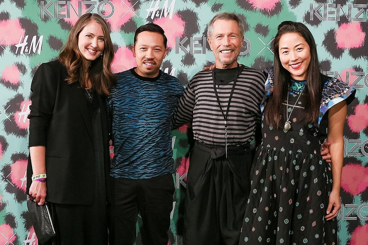 39d2675a07ee4 (From left) H&M creative adviser Ann-Sofie Johansson; Kenzo creative  director Humberto